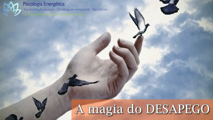 A magia do desapego